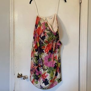 Jcrew floral dress with pockets